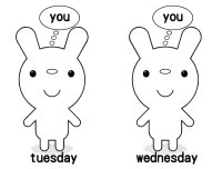 Tues wed