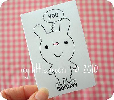 © 2010 my little mochi bunny book