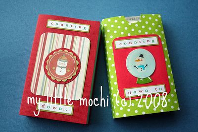©2008 my little mochi pocket advent calendar tutorial
