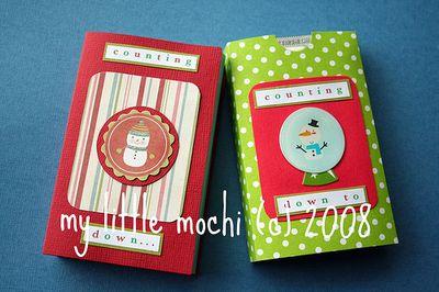 ©2008 my little mochi pocket advent calendar tutorial