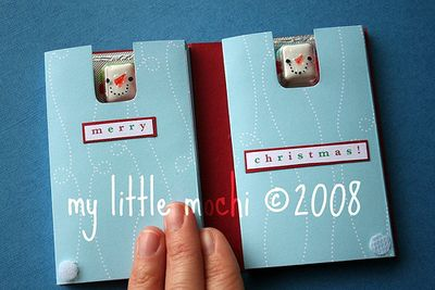 ©2008 my little mochi pocket advent calendar tutorial 2