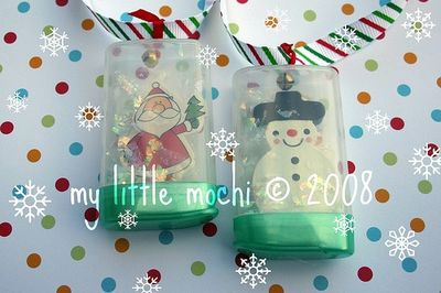 Snowglobe necklaces 2