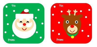 My little mochi 2011 gift tags