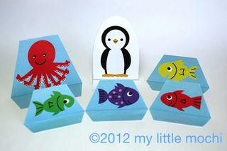 Fish paper dolls 2