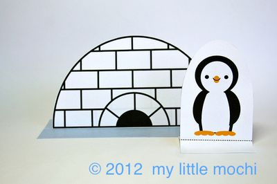 Igloo paper doll 2