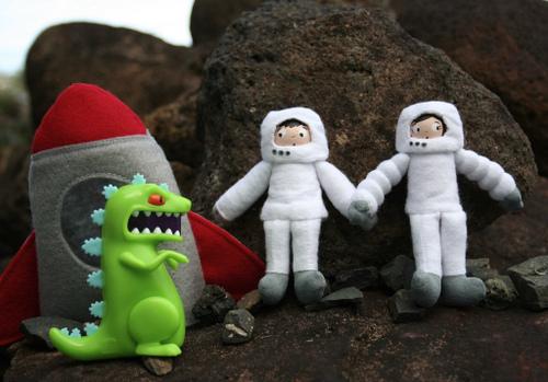 Astronaut Biff and Astrogirl Suzie