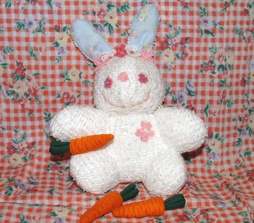 terry cloth bunny