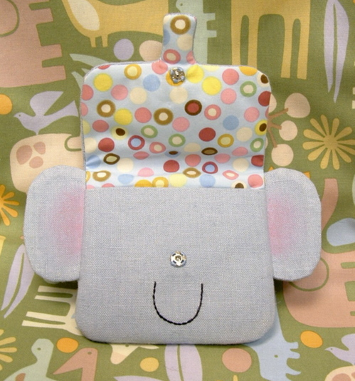 Elephant pouch lining